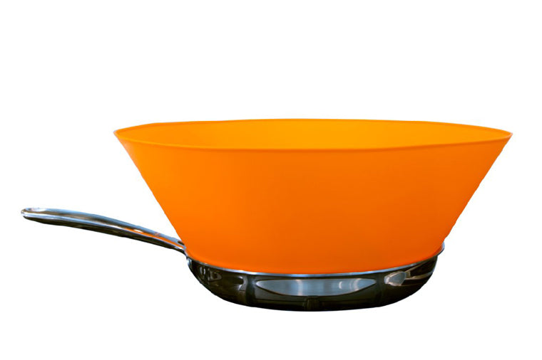 Orange Frywall for Large Pans