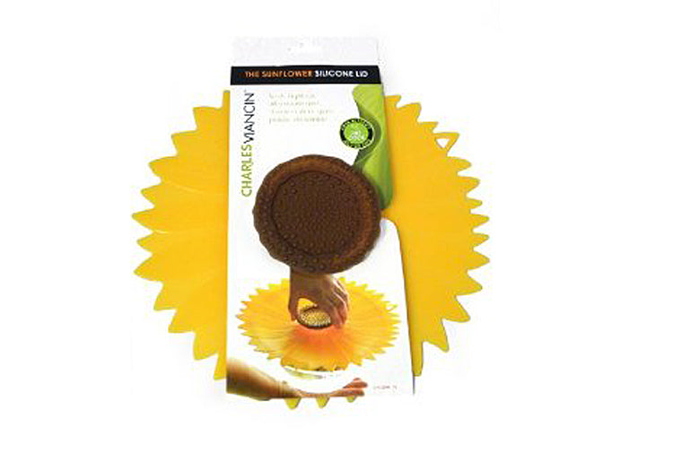 8in. Sunflower Lid