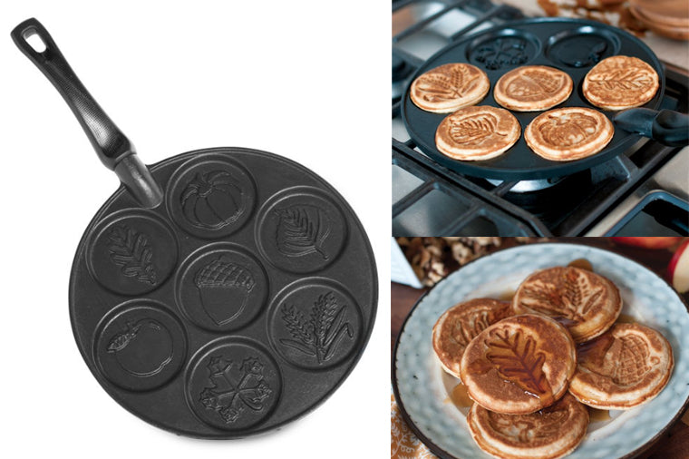 Autumn Leaves Pancake Pan - NordicWare