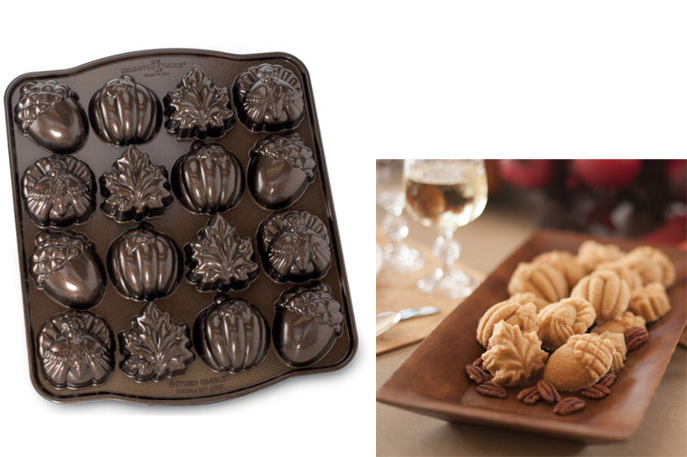 Autumn Cakelet Pan - NordicWare