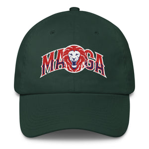 MAGA Lion - Embroidered Cap