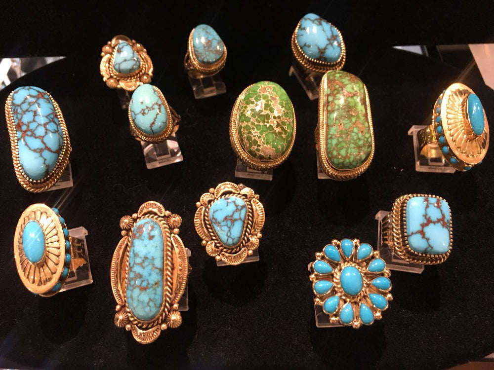 Gold and Turquoise – A Match Made in Heaven
