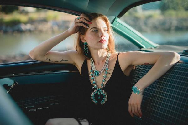 Why We Love Squash Blossom Necklaces