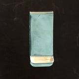 "For Men 0.75"" Stamped Sterling Silver Money Clip"