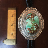 For Men Large Statement Royston Turquoise Bolo Tie