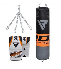 RDX PUNCH BAG WITH GLOVES