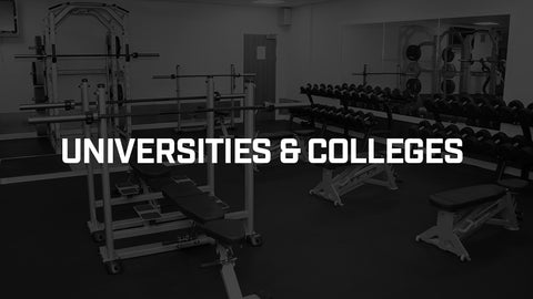 Universities and colleges apollo fitness gym equipment