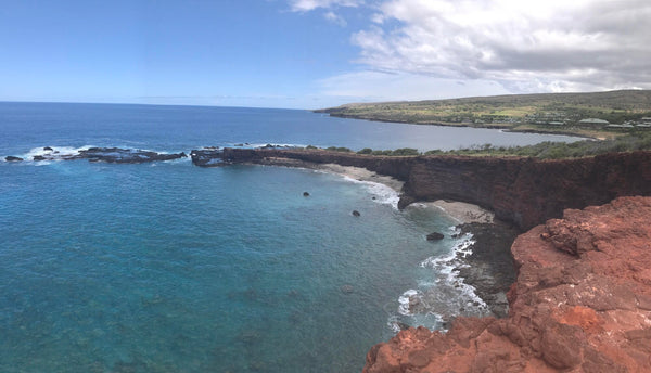 Lanai: Hulopoe Bay and Sweetheart Rock