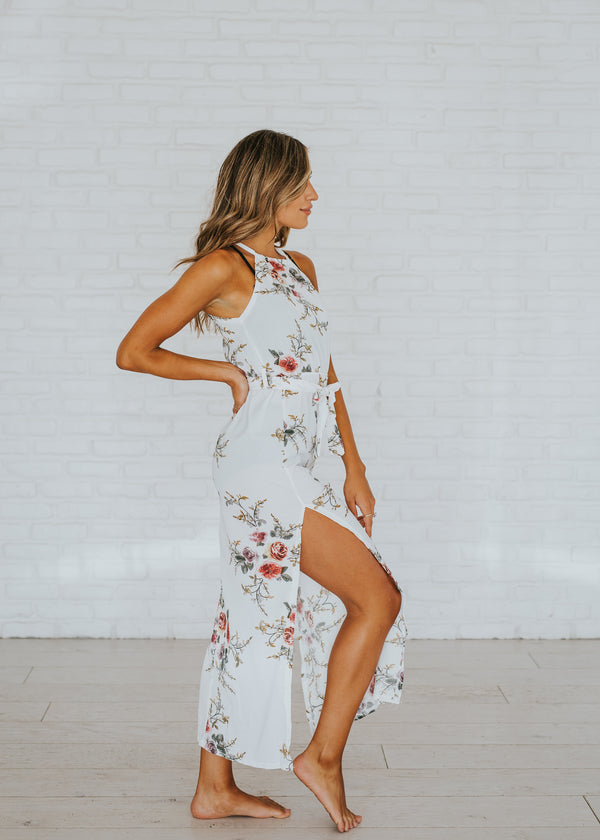 Riverwalk Floral Dress