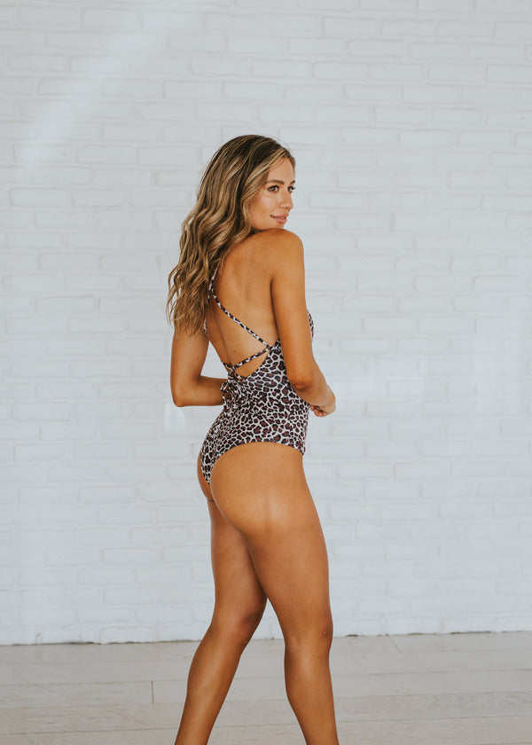 Jane Leopard One Piece