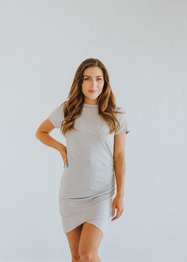 Side Scrunch Dress