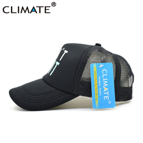 26cd8f71a68 Mesh Trucker Baseball Caps GYM Fitness Do It Don t Quit Bodybuilding Muscle