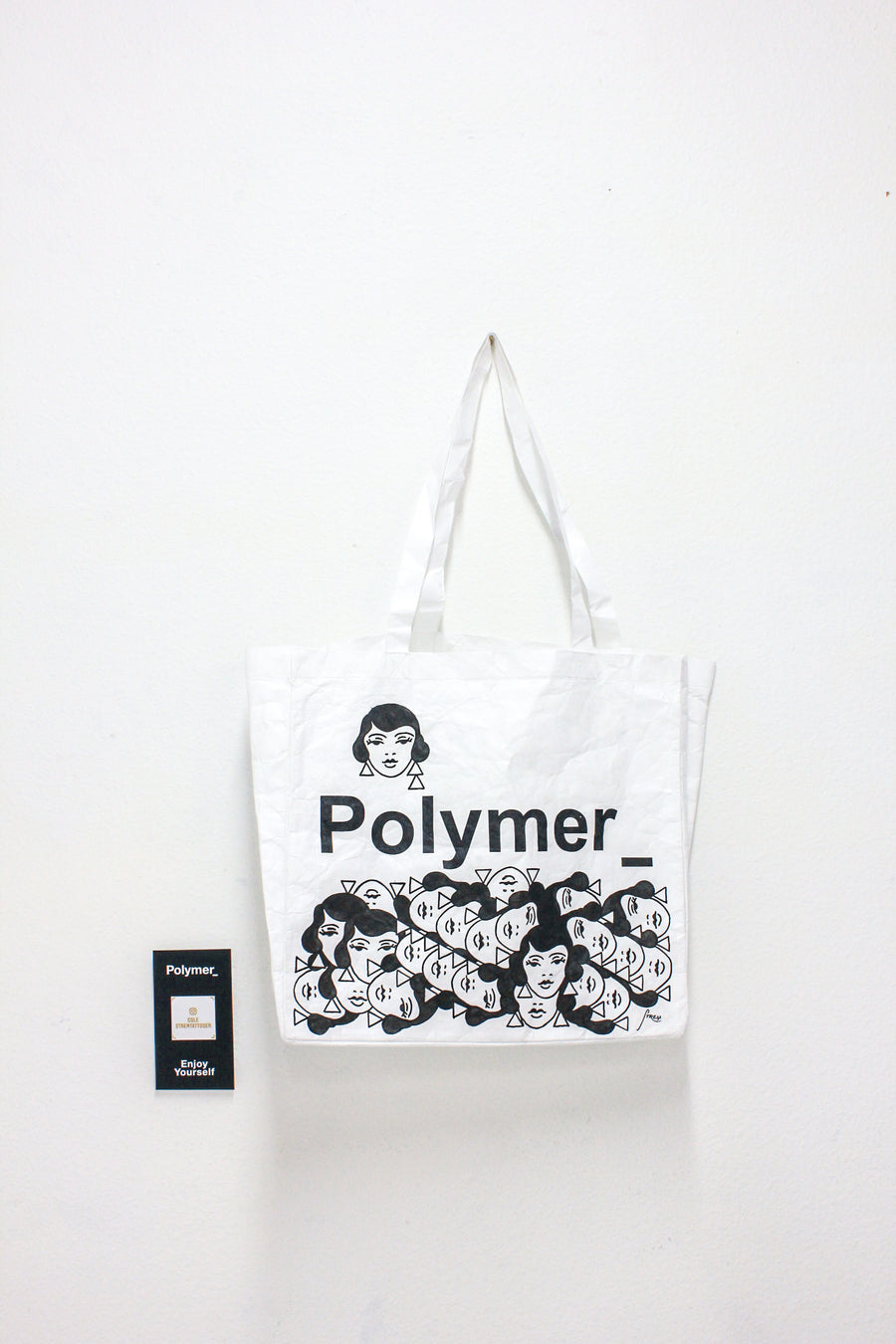 Polymer_ Enjoy Yourself Art Tote by Cole Strem