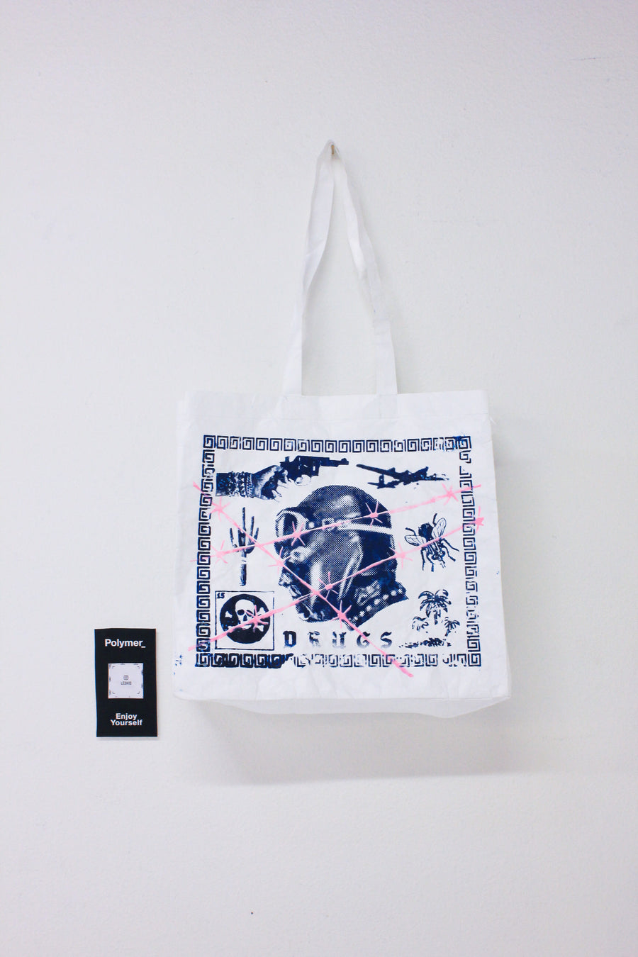 Polymer_ Enjoy Yourself Art Tote by Ian Bragg