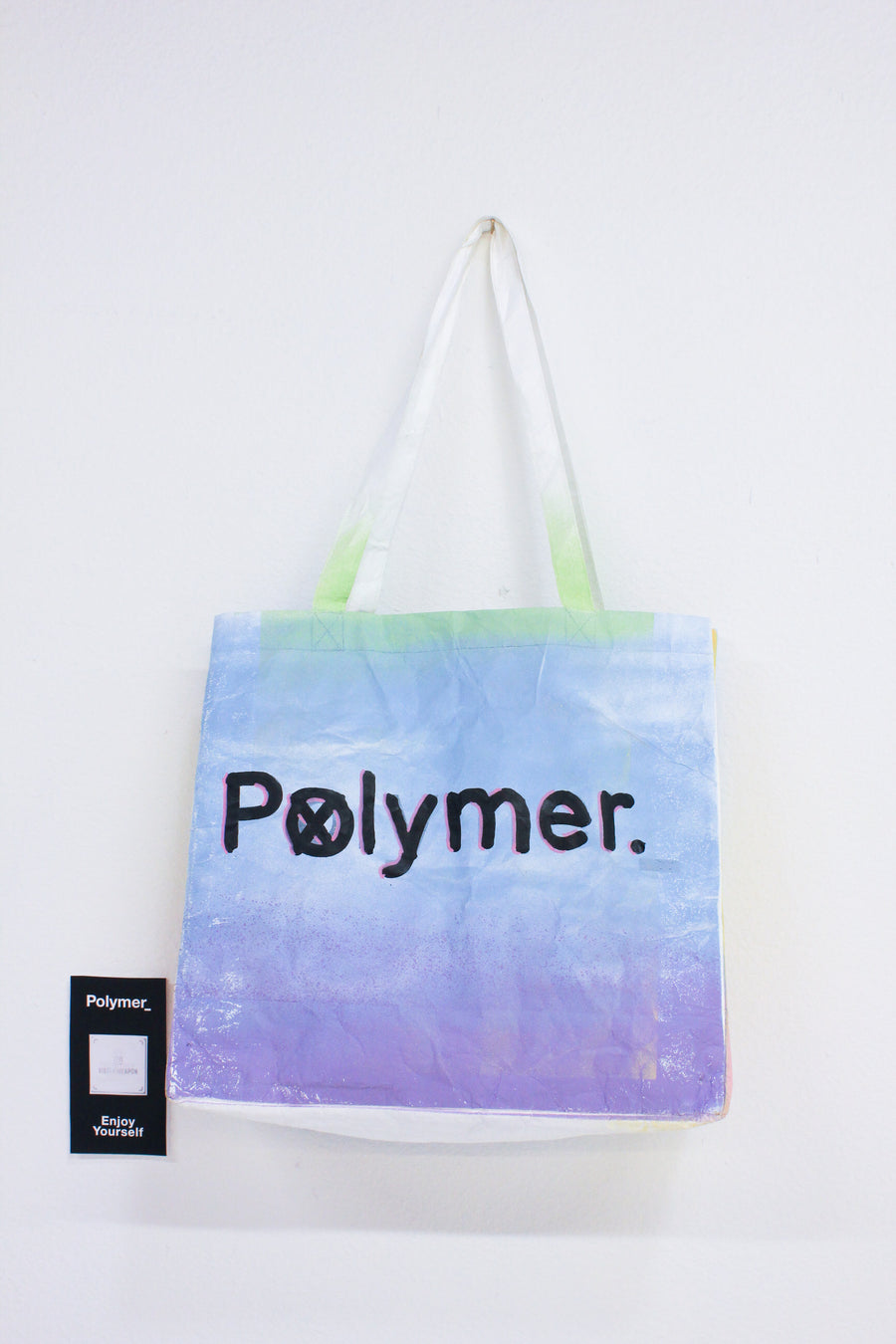 Polymer_ Enjoy Yourself Art Tote by Michael Ziobrowski