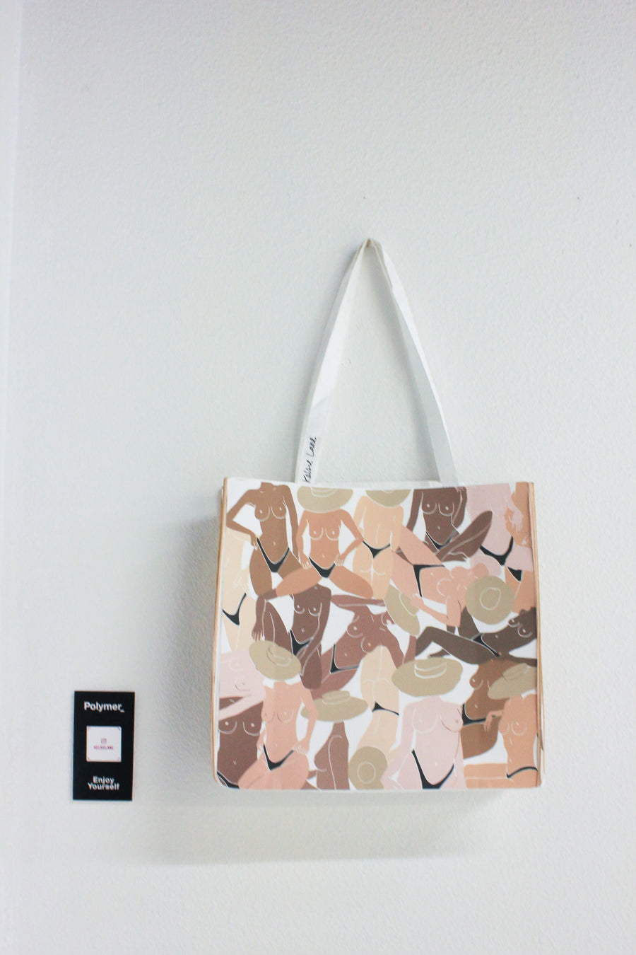 Polymer_ Enjoy Yourself Art Tote by Kelsie Van Wuychuyse