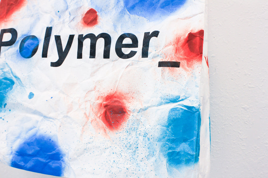 Polymer_ Enjoy Yourself Art Tote by Ignacio Villanueva