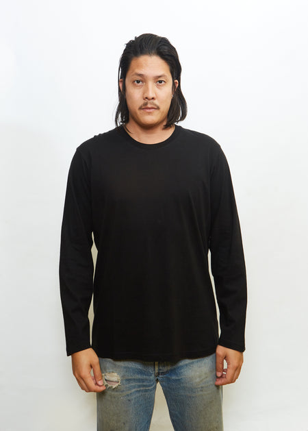 Word Mark L/S Black