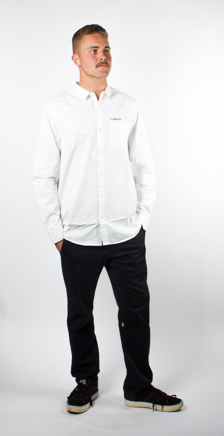 Polymer X Commune Capital Essential L/S White