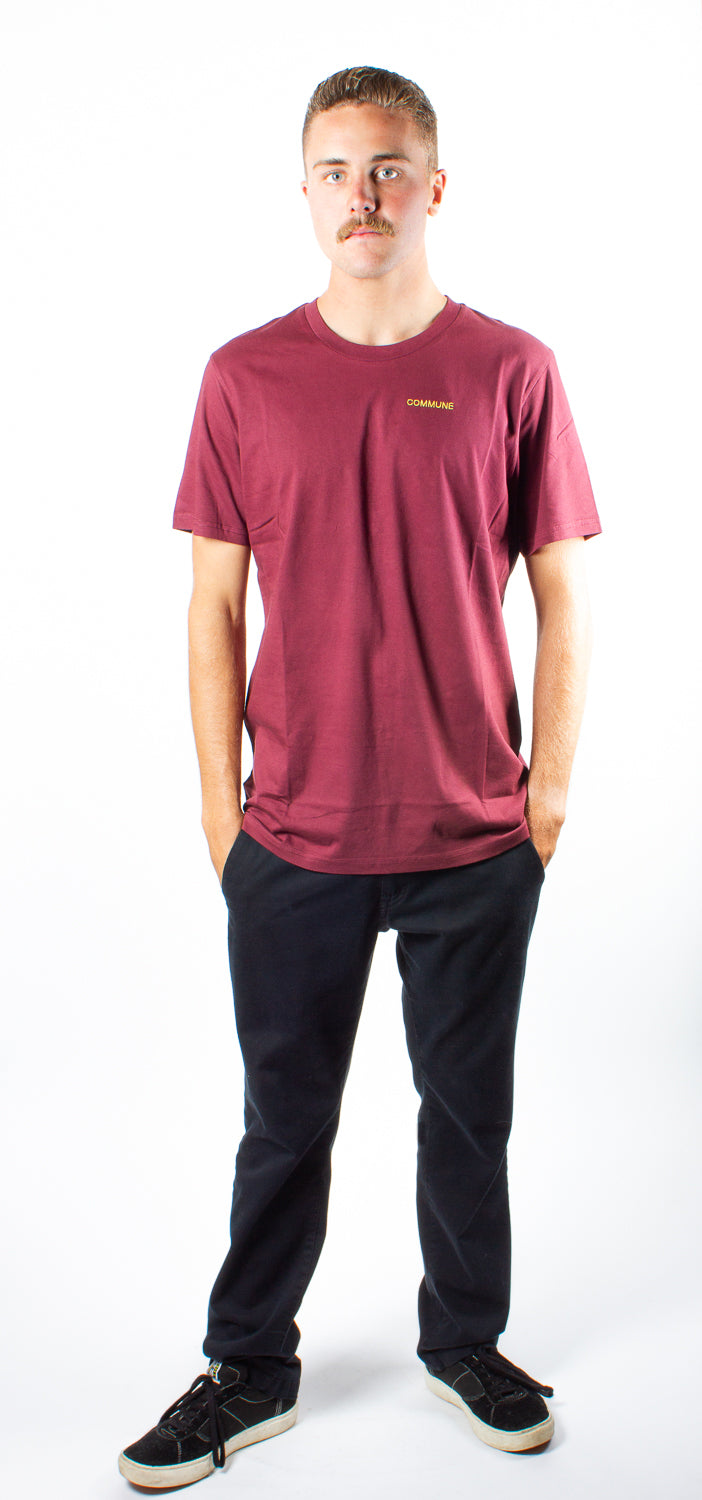 Polymer X Commune Capital Necessary S/S Burgundy