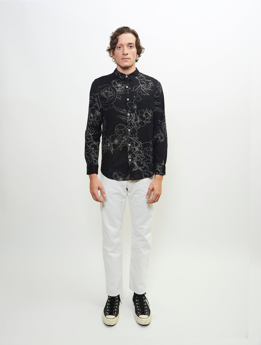 adroit-long-sleeve-printed-cotton-gauze-woven-button-up-shirt-black