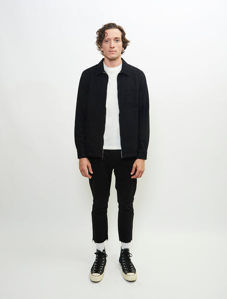 baroque-outerwear-cotton-twill-jacket-rinse-wash-black