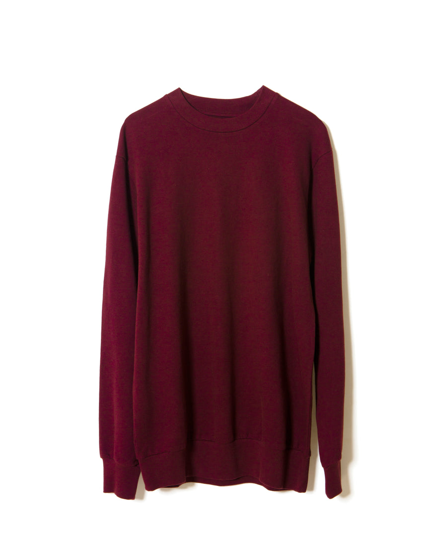 conformity-long-sleeve-crew-neck-french-terry-sweat-shirt-burgundy