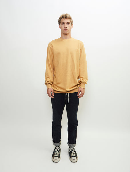conformity-long-sleeve-crew-neck-french-terry-sweat-shirt-mustard