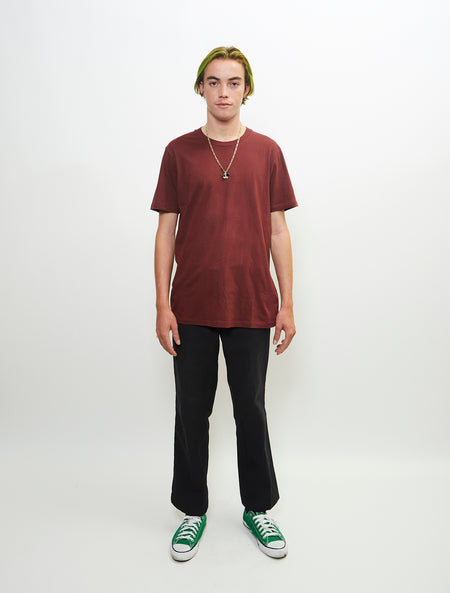 Essential S/S Burgundy