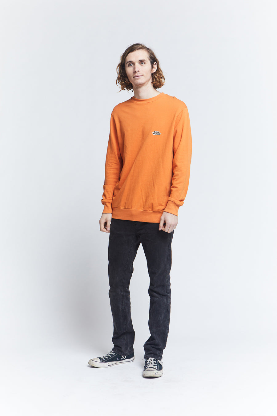 long-sleeve-loose-knit-french-terry-regular-fit