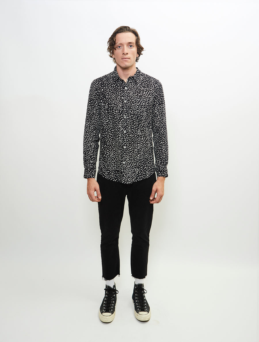 varied-long-sleeve-printed-cotton-gauze-woven-button-up-shirt-black