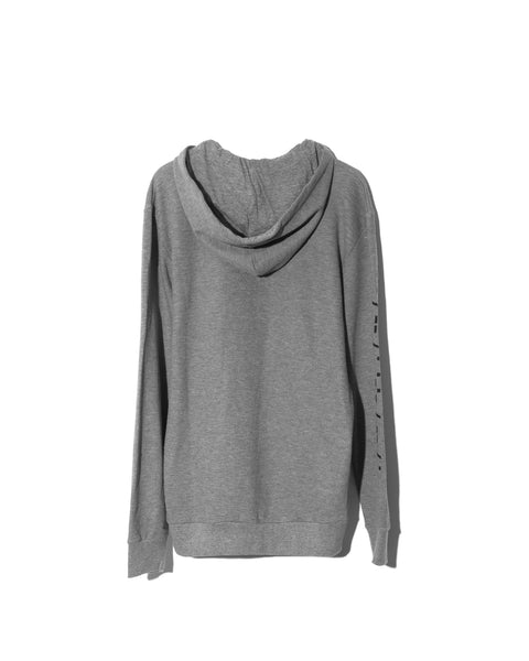 Word Mark Hoodie Heather Gray