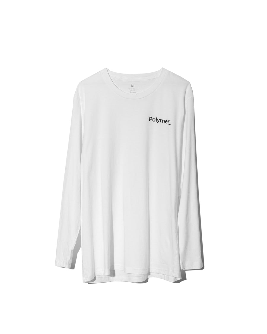 Word Mark L/S White