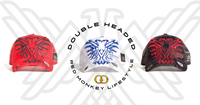 Double Headed RED EAGLE BLACK