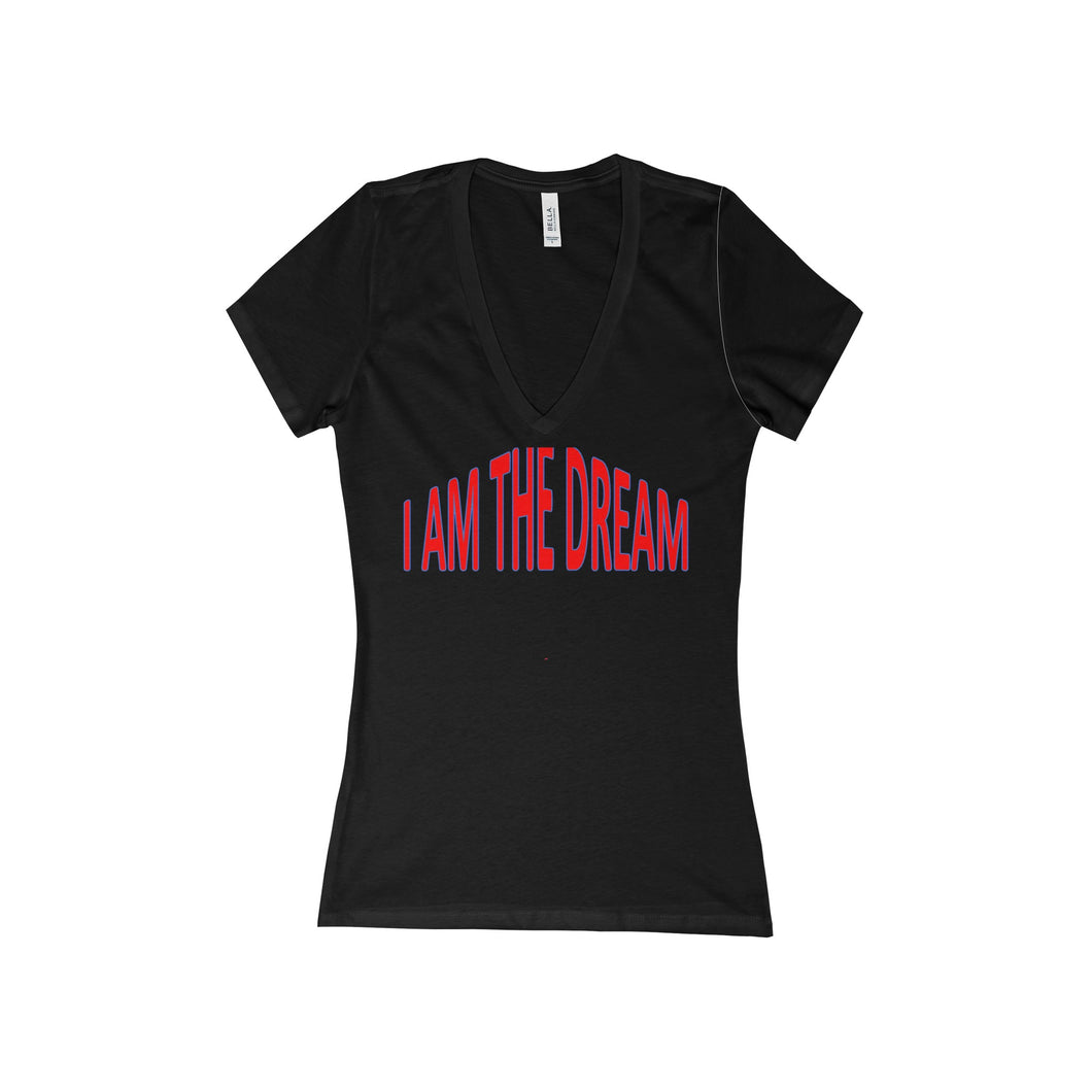 I AM THE DREAM, Women's V-Neck Tee
