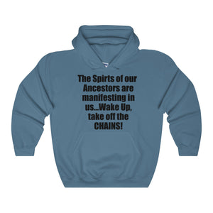 THE SPIRITS OF OUR ANCESTORS,...Unisex Heavy Hoodie(multiple colors)