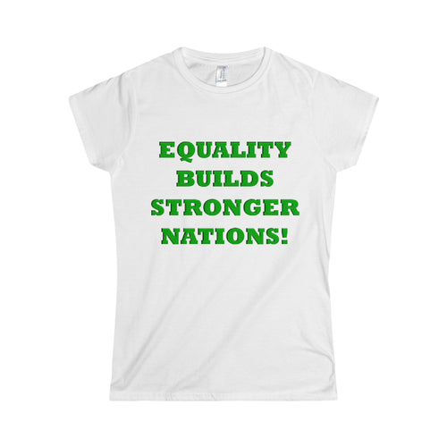 EQUALITY BUILDS...Women's Junior-Fit Tee