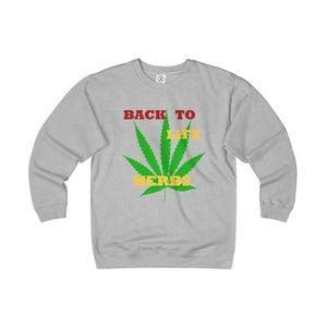 BACK TO LIFE,...Unisex Heavyweight Long Sleeve Crew
