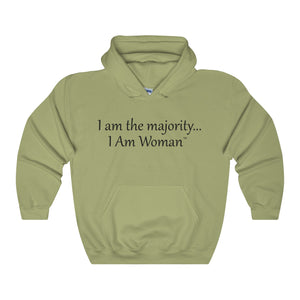 I AM WOMAN,...Unisex Heavy Hoodie(multiple colors)