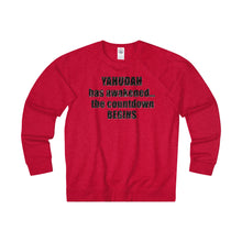 YAHUDAH HAS AWAKENED,...Unisex Long Sleeve Heavier than (Tee)Fleece Crew(multiple colors)
