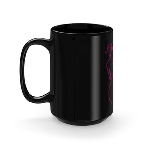 I AM THE MAJORITY..., Black Mug 15oz