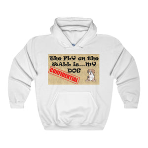 CONFIDENTIAL DOG,...Unisex Heavy Hoodie(multiple colors)