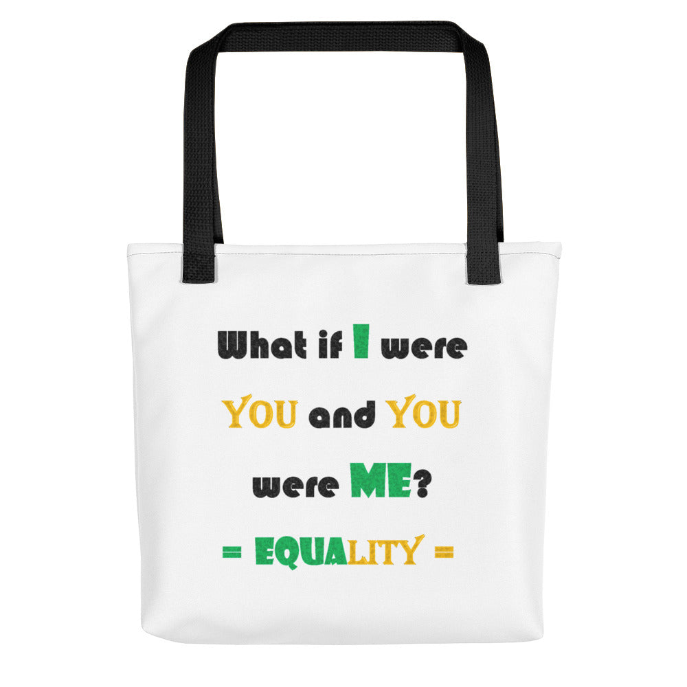 WHAT IF I WERE YOU,...Tote bag