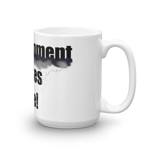 ENLIGHTENMENT STRIKES HERE,  Mug