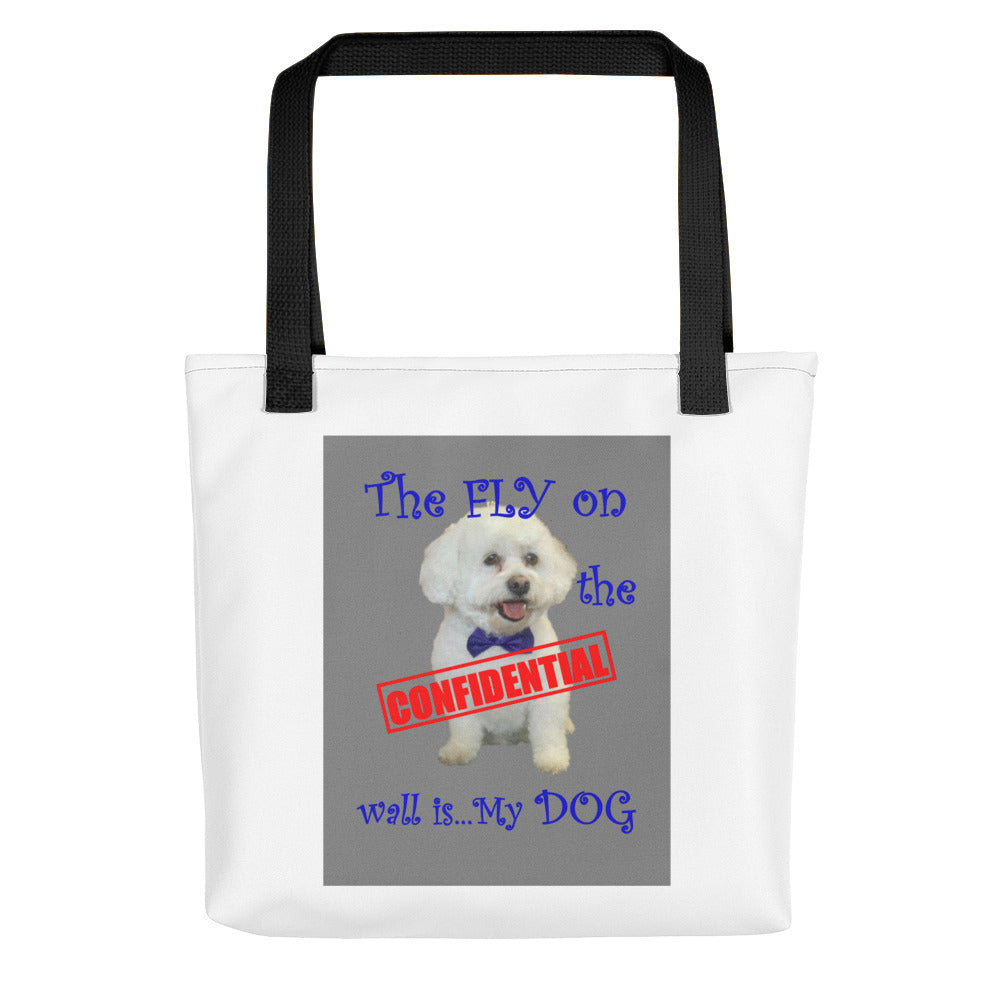 THE FLY ON THE WALL...,Tote bag