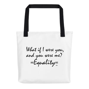 WHAT IF I WERE YOU...,  Tote bag
