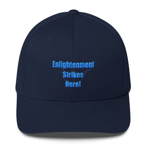 ENLIGHTENMENT STRIKES HERE, Structured Twill Cap