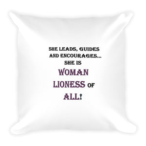 WOMEN,...Square Pillow