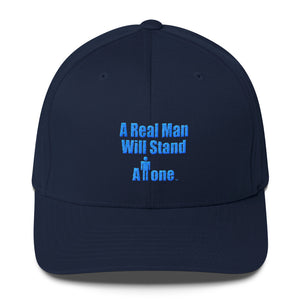 A REAL MAN...,  Structured Twill Cap