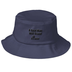 A REAL MAN..., Old School Bucket Hat